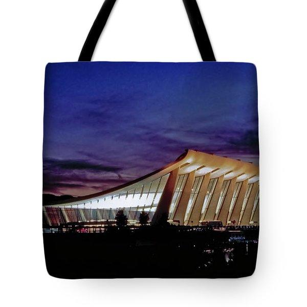 Dulles International Tote Bag