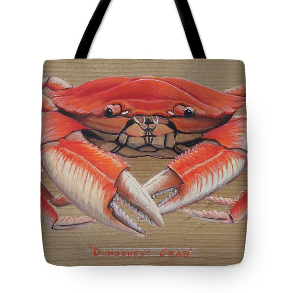Dungeness Crab Tote Bag