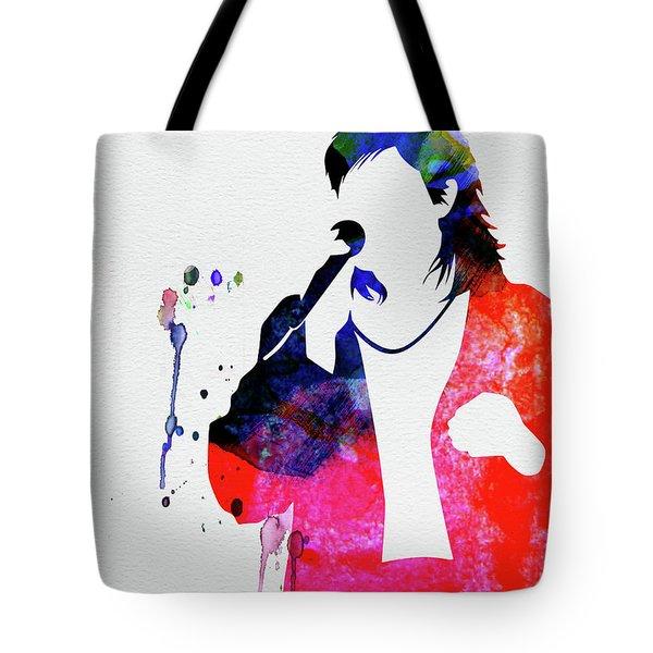 Duran Duran Watercolor Tote Bag