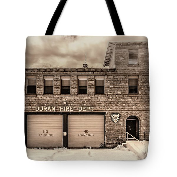 Duran Fire Dept Tote Bag
