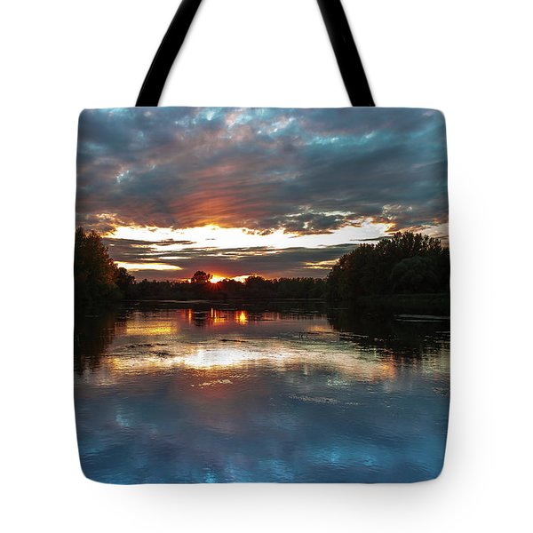 Dusk Aquarelle Tote Bag