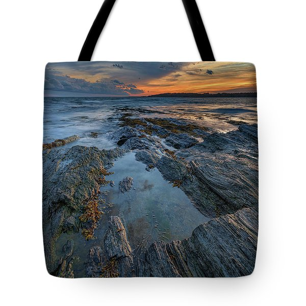 Dusk At Kettle Cove Tote Bag