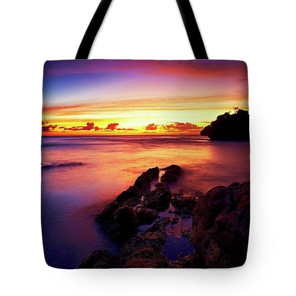 Dusk, Columbus Bay Tote Bag