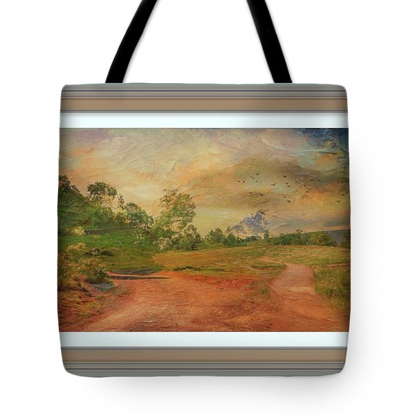 Dusk In The Hills Tote Bag
