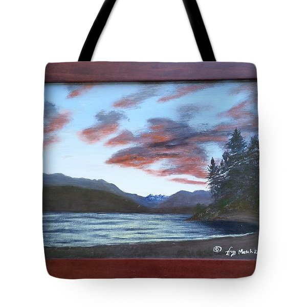 Dutch Harbour, Evening Sky Tote Bag