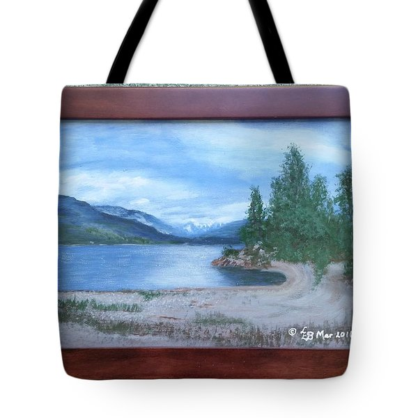 Dutch Harbour, Kootenay Lake Tote Bag