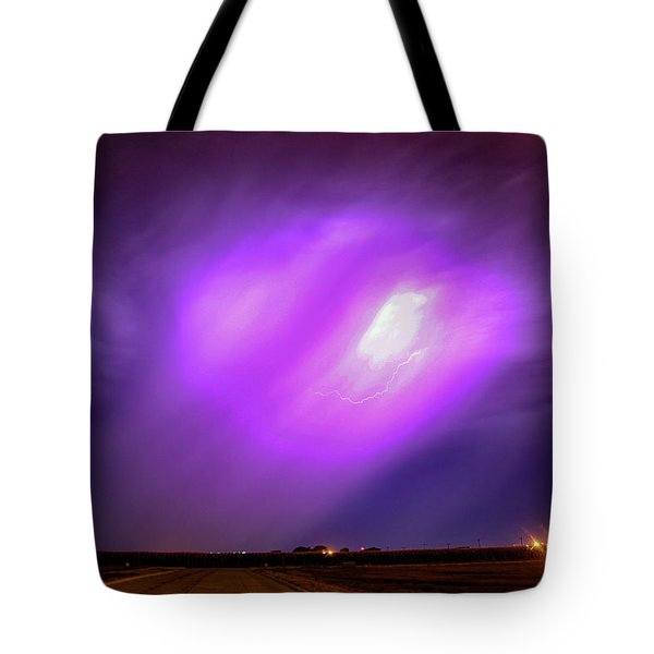 Dying Late Night Supercell 016 Tote Bag