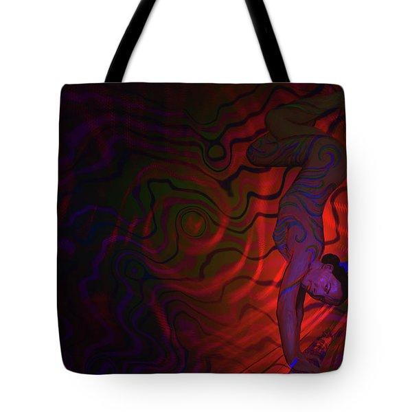 Dynamic Color 3 Tote Bag