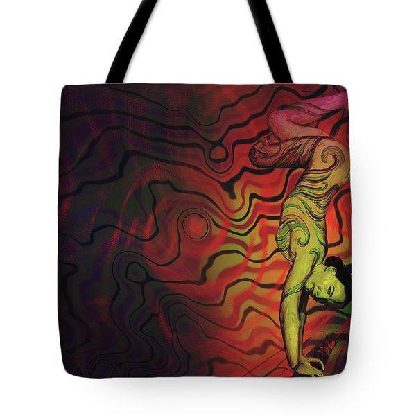 Dynamic Color Tote Bag