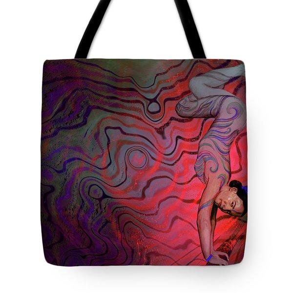 Dynamic Color2 Tote Bag