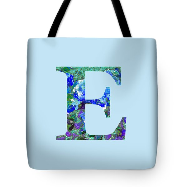 Tote Bag featuring the digital art E 2019 Collection by Corinne Carroll