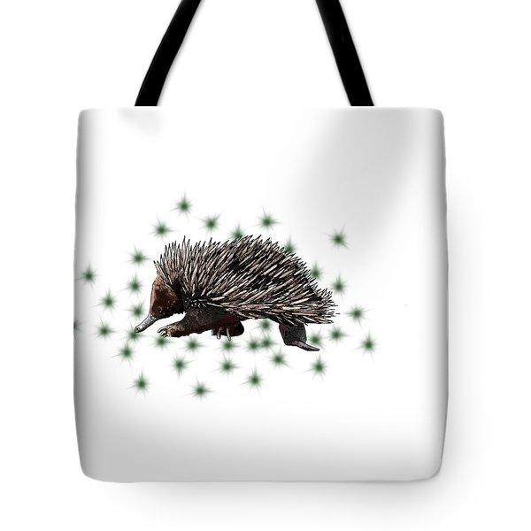 E Is For Echidna Tote Bag