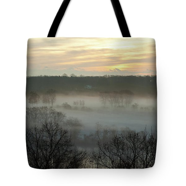 Early Morning On The Housatonic Tote Bag