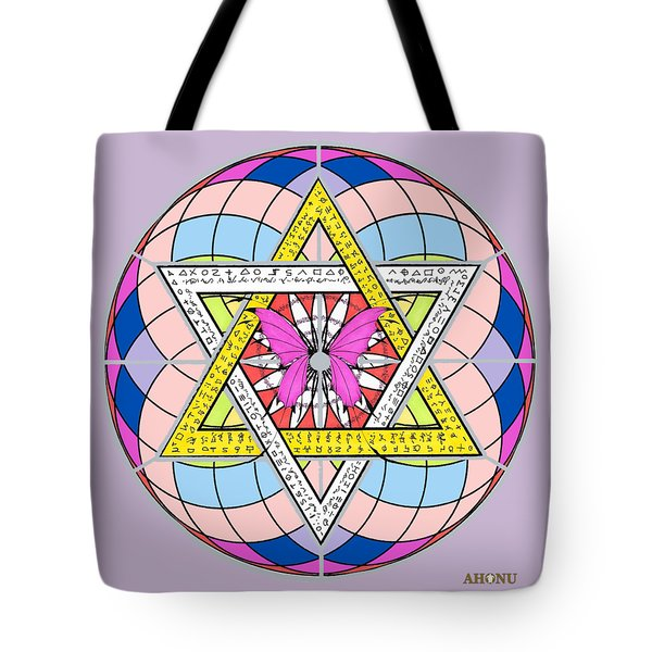 Eager Soul Portrait Tote Bag