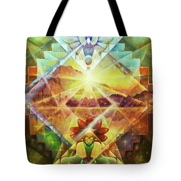 Eagle Boy And The Dawning Of A New Day Tote Bag