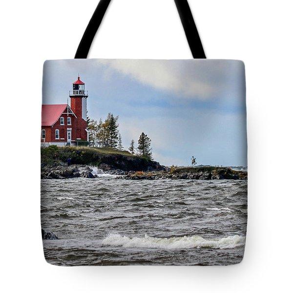 Eagle Harbor Lighthouse Tote Bag