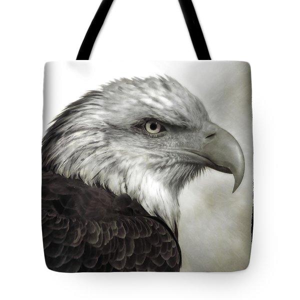 Eagle Protrait Tote Bag