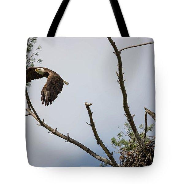 Eagle's Nest Tote Bag