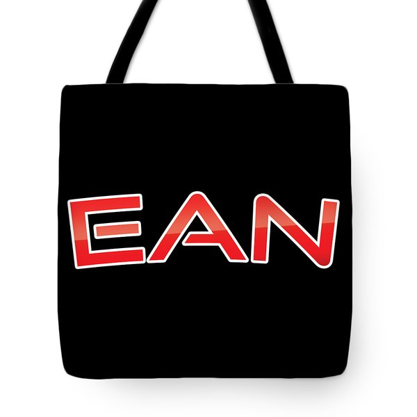 Tote Bag featuring the digital art Ean by TintoDesigns