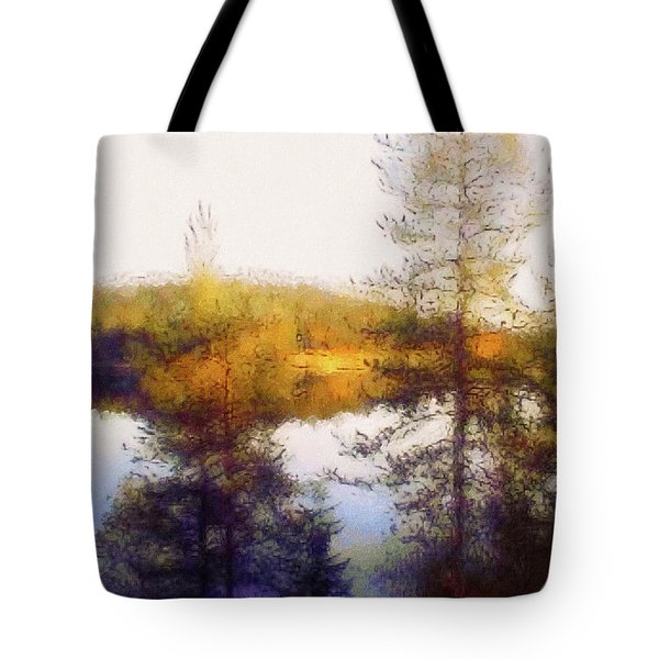 Early Autumn In Finland Tote Bag