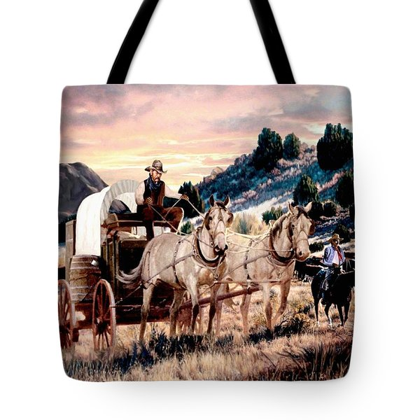 Early Morning Drive  Tote Bag