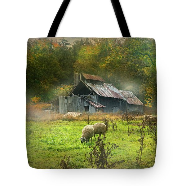 Early Morning Grazing Tote Bag