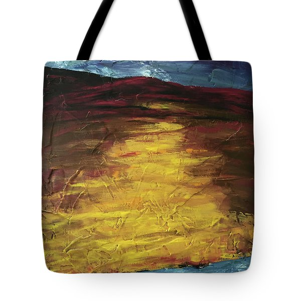 Earth In The Between Tote Bag