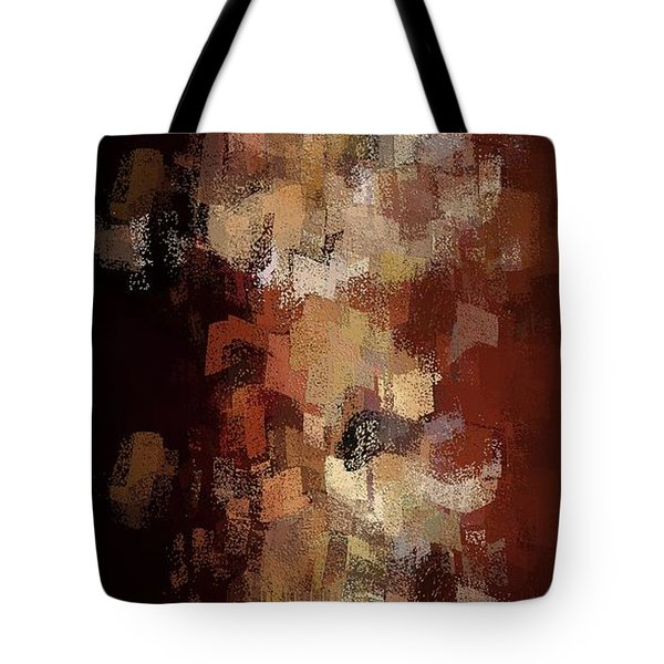 Tote Bag featuring the digital art Earthly Eruption by David Manlove
