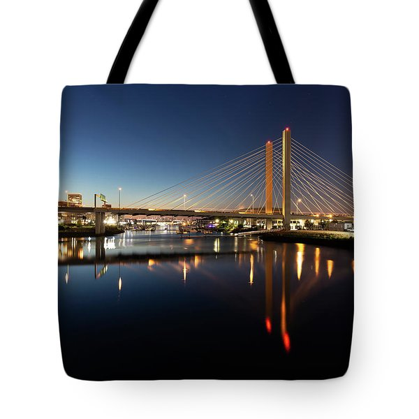 East 21st Street Bridge Tote Bag