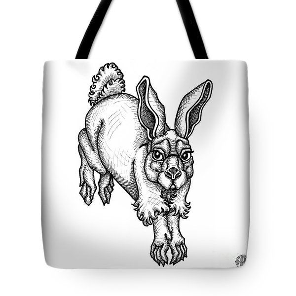 Eastern Cottontail Tote Bag
