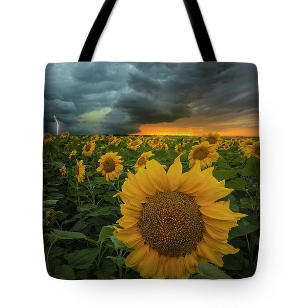Tote Bag featuring the photograph Eccentric  by Aaron J Groen