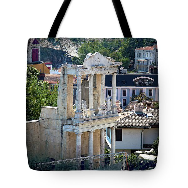 Tote Bag featuring the photograph Echo From The Old Times by Milena Ilieva