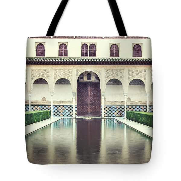 Echoes In The Rain Tote Bag