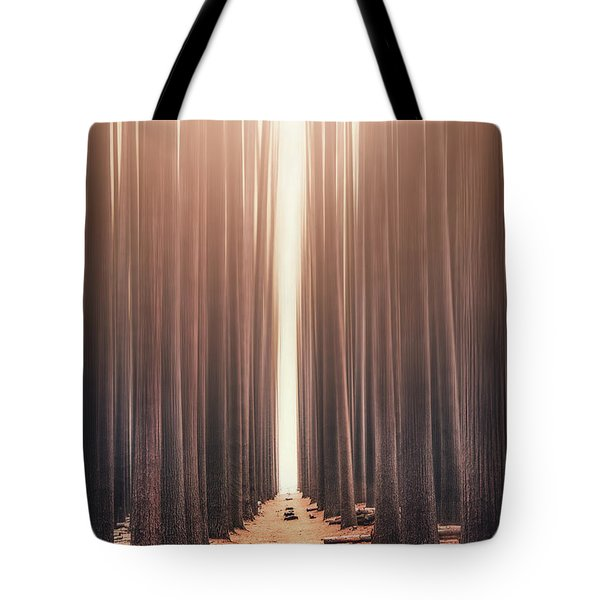 Echoes Rising Tote Bag