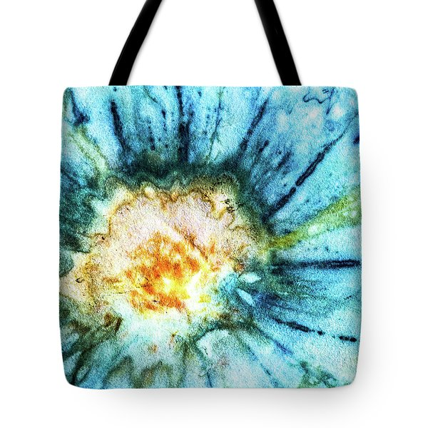 Eco Dyed Cosmos Tote Bag