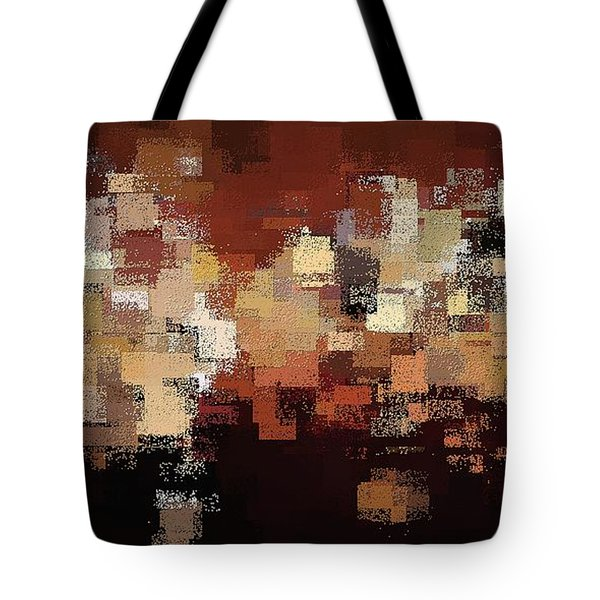 Tote Bag featuring the digital art Edge Of Eternity by David Manlove