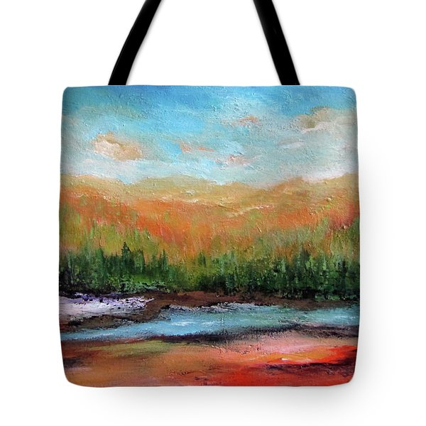 Edged Habitat Tote Bag