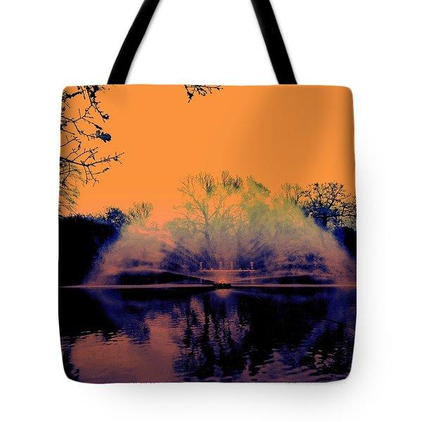 Edit This 14 - Mist Tote Bag