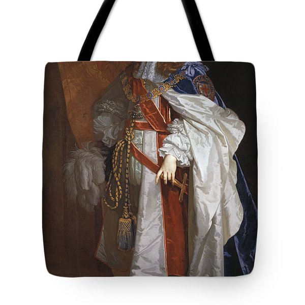 Edward Montagu The First Earl Of Sandwich - By Peter Lely Tote Bag