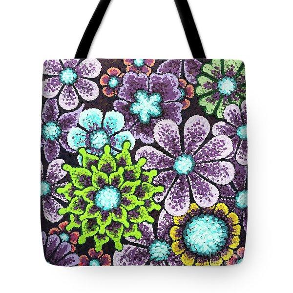 Efflorescent 12 Tote Bag