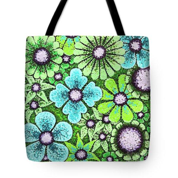 Efflorescent 9 Tote Bag
