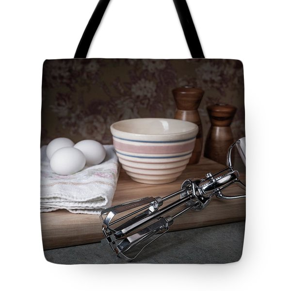 Eggbeater And Eggs Still Life Tote Bag