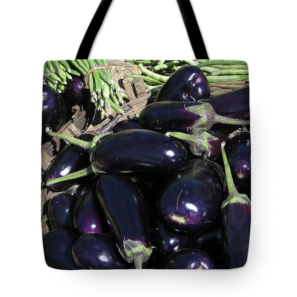 Eggplants   For Sale In In Chatikona  Tote Bag