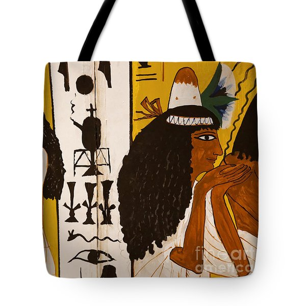 Tote Bag featuring the photograph Egyptian Glory by Sue Harper