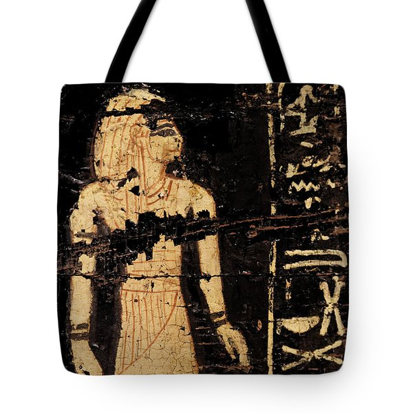 Tote Bag featuring the photograph Egyptian Immortal Art by Sue Harper