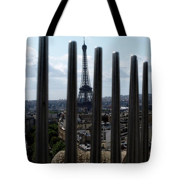Eiffel Tower, Distant Tote Bag
