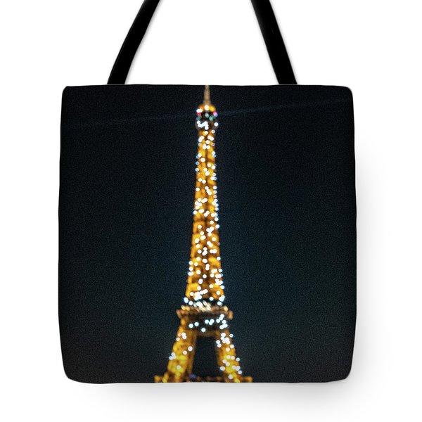 Tote Bag featuring the photograph Eiffel Tower by Randy Scherkenbach