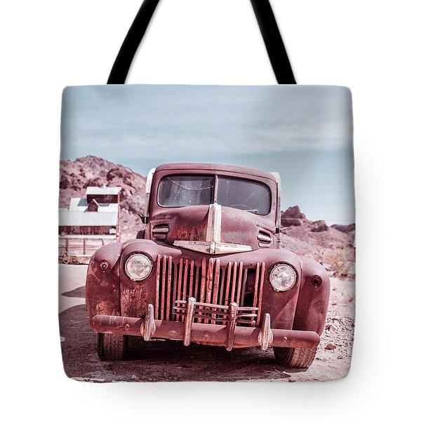 Eldorado Ghost Town Old Ford Pickup Truck Tote Bag