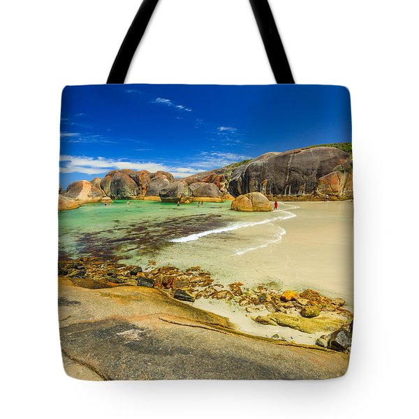 Tote Bag featuring the photograph Elephant Cove Beach by Benny Marty