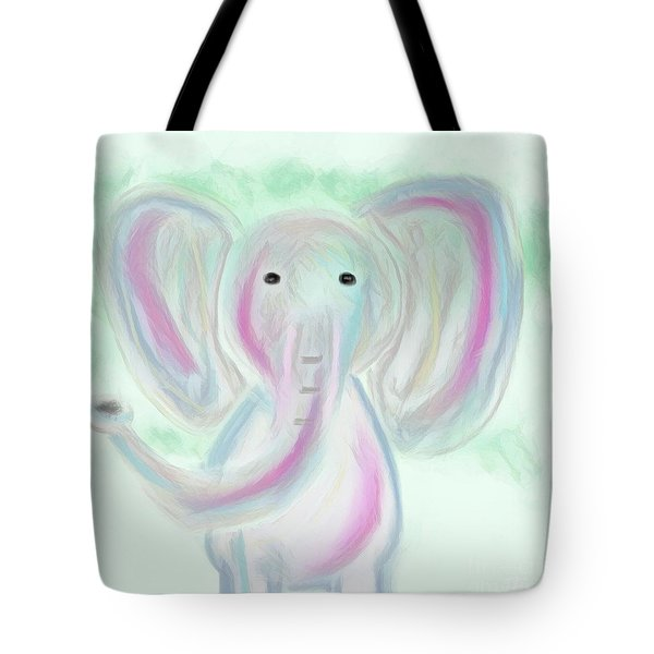 Elephant Love Tote Bag
